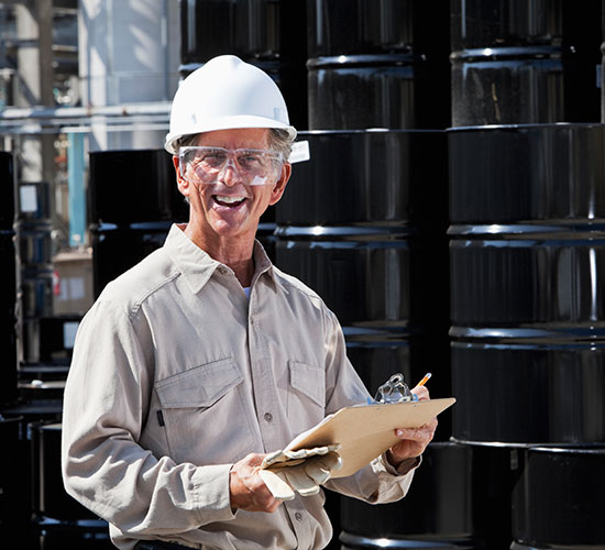 Worker-at-chemical-plant
