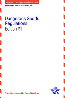 Click here to purchase the IATA DGR 2020 61st Edition book