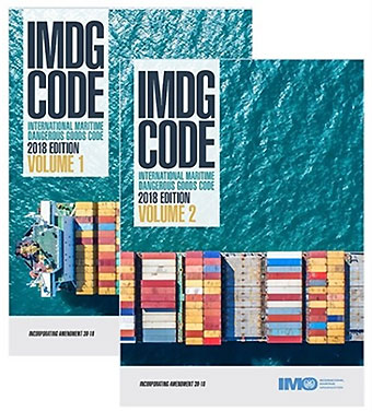 Click here to purchase the IMDG CODE 2020 39th Edition book set